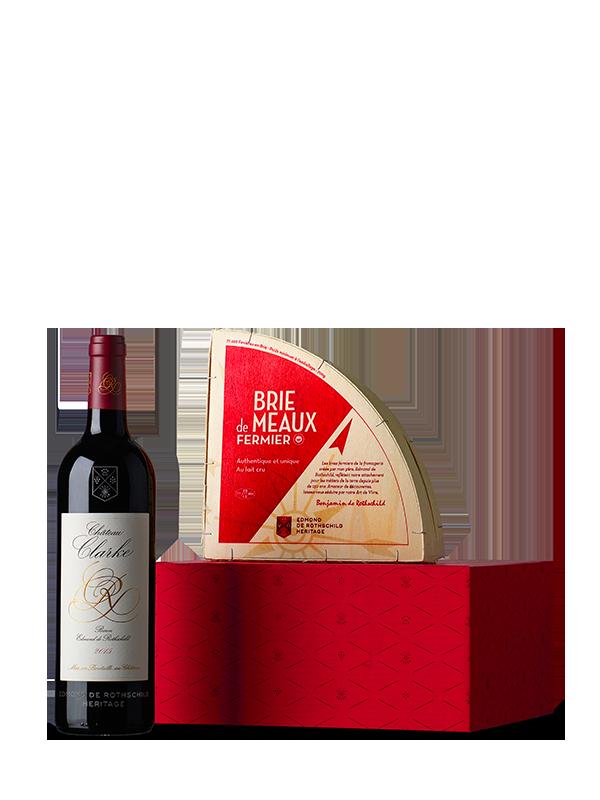 Coffret personnalisé vin & fromage